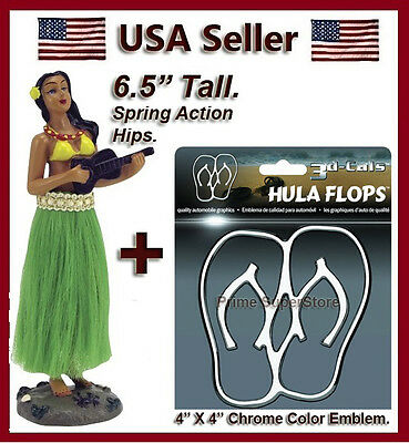 New Aloha Hawaiian Hula Girl Car Auto & Truck Dashboard dancing Hawaii Doll Dash