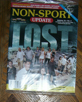 Non-Sport Update Vol 16 No 6 Dec 2005 - Jan 2006 Lost