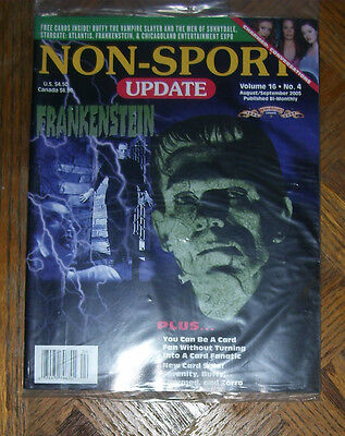 NON-SPORT UPDATE VOL 16 NO 4 AUG 2005 - SEPT 2005 Frankenstein