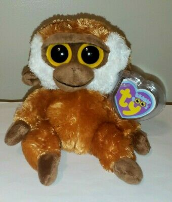 "Ty Beanie Boos Boo's ~ BONGO the 6"" Monkey ~ MINT with MINT TAGS ~ RETIRED"
