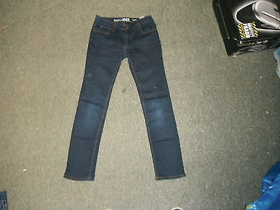 "Gap kids Legging Jeans Waist 26"" Leg 27.5"" Faded Blue Blue 13 Yrs Girls Jeans"