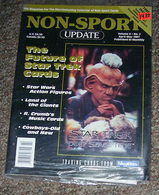 NON-SPORT UPDATE VOL 08 NO 2 APR 1997 - MAY 1997 Star Trek: Deep Space Nine