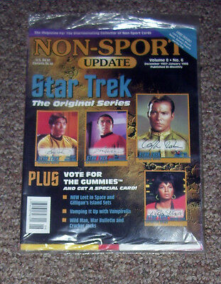 NON-SPORT UPDATE VOL 08 NO 6 DEC 97 - JAN 1998 Star Trek: The Original Series