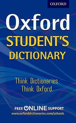 Oxford Student's Dictionary by Oxford Dictionaries (PB)