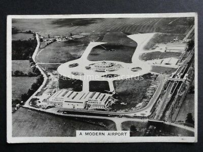No.36 GATWICK A MODERN AIRPORT RP Flying - Pattreiouex 1938