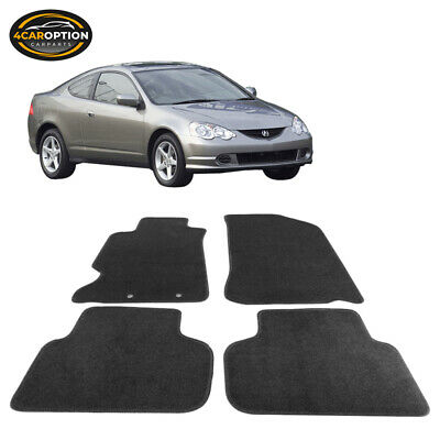VMS RACING DC Red Floor Mats Carpets Fits For Acura Rsx Type - Acura rsx floor mats