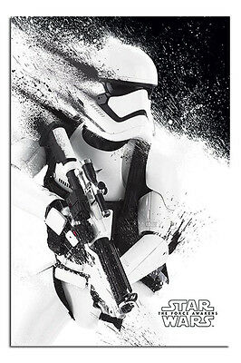 Star Wars 7 The Force Awakens Paint Poster New - Maxi Size 36 x 24 Inch