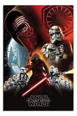 Star Wars 7 The Force Awakens First Order Poster New - Maxi Size 36 x 24 Inch