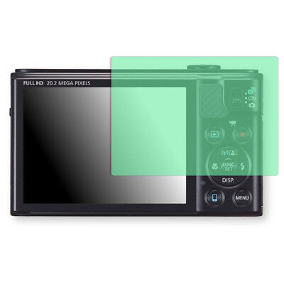 Golebo Screen Film for Privacy protection green for Canon PowerShot SX610 HS