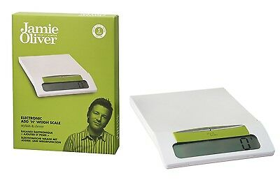 Jamie Oliver Keep It Simple Electronic Add And Weigh Kitchen Scales Xmas Gift