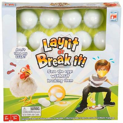 Lay It Or Break 'Save The Eggs' Fun Play Games Brand New Childrens Xmas Gift