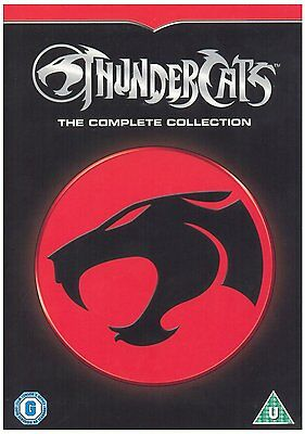 ThunderCats Seasons 1 & 2 Complete DVD Box Set Animated TV Series Region 2 New