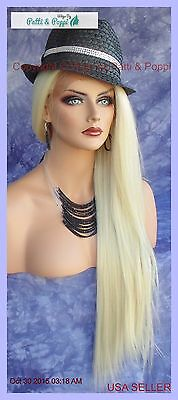 Long Straight Heat Safe Lace Front Wig 613 *stunning Alluring Usa Seller 159