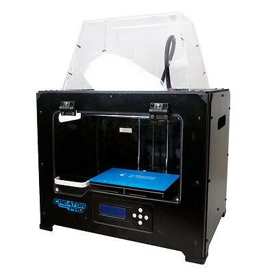 FlashForge USA Creator PRO 3D Printer Metal Chamber Dual ABS/PLA Extrusion Print