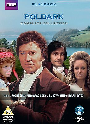POLDARK Complete Series 1 + 2 SEALED/NEW Original 1977 BBC Season one and two