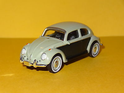 1965 Volkswagen Classic Beetle 2 Tone Green 1/64 Limited Edition Real Rubber P