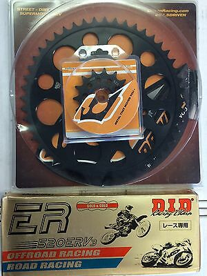 DID 520 ERV3 Chain and Driven Sprocket kit Yamaha YZF-R1 2015 2016 R1M