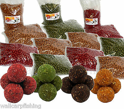Top Secret 10kg Feederboilie Futterboilie Carp Boilies Ø18mm 2,99€ pro kg