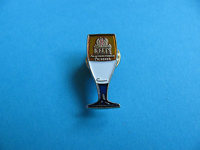 Kelts Beer Glass pin badge. Good Condition