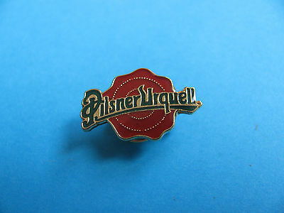 PILSNER URQUELL Beer pin badge, Lager, Pilsner. VGC. Unused.