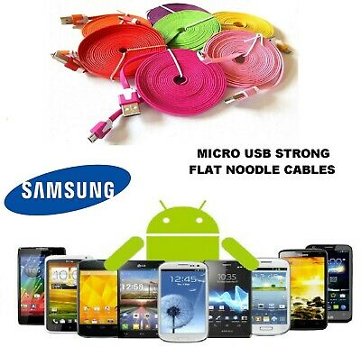 2M 6FT Micro USB Charger Data Sync Cable Cord Wire fits Samsung Galaxy S2,S3,S4