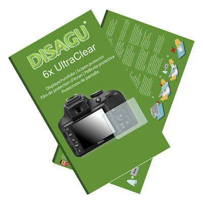 6x UltraClear Screen Protector for Nikon D3300