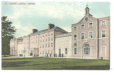 irish postcard ireland carlow college