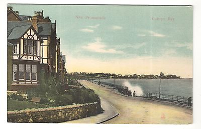 wales welsh postcard united kingdom colwyn bay