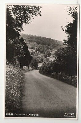 wales welsh postcard united kingdom llandogo