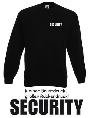 10 Stck. SECURITY SWEATER - Gr. S bis XXL