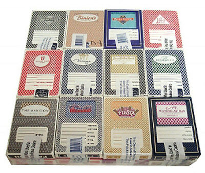 Casino Playing Cards - 24 Used Decks From 24 Different Collectible Casinos *