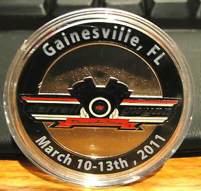 Darrell Gwynn Foundation Race For Charities 2011 Coin Medallion Gainesville Fl