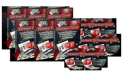 PINTEREST EXPERT - Generate Cash Instantly With The Latest Social Network (CD)