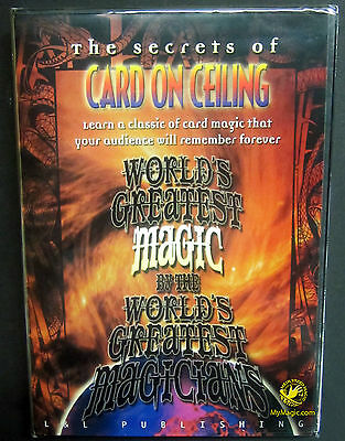 World's Greatest Magic: Card On Ceiling :: NEW DVD