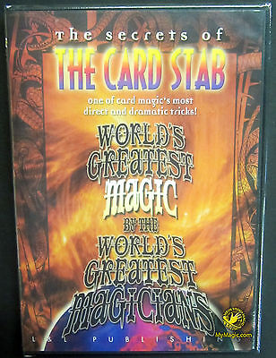 World's Greatest Magic: The Card Stab :: NEW DVD