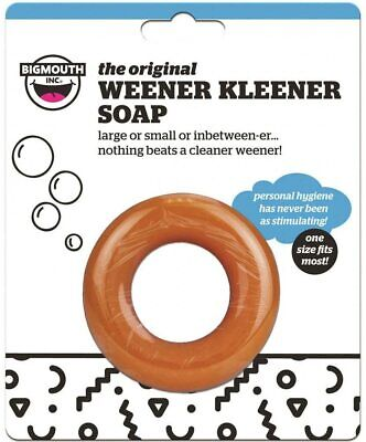 (2) New Weener Kleeners Soap Weiner Cleaner Joke Gag Gift Party Adult Gag Prank