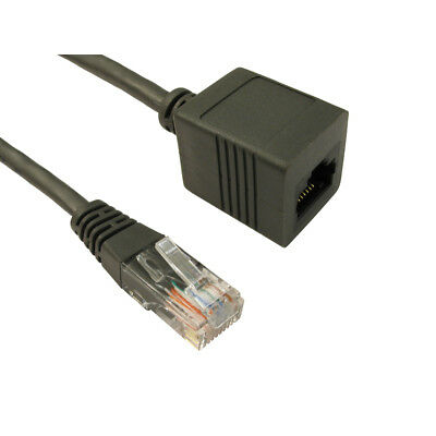 RJ45 Extension Cable Cat5e UTP Ethernet Network Lead Extender Male To Female