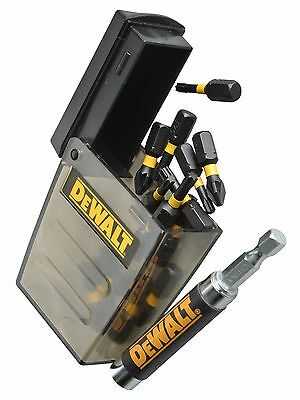 DEWALT 15 x PZ2 IMPACT Rated Drill Driver Screwdriver Bits & Holder, DT70618T