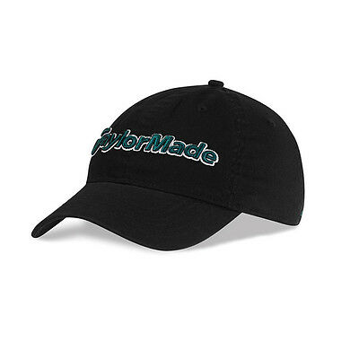 NEW TaylorMade Tradition Casual Est. 1979 Black Adjustable Hat/Cap
