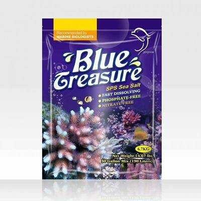 Sale Marino Sps Reef Sea Salt 6.70 Kg Blue Treasure No Fosfati Acquario Coralli