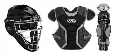 Rawlings RCS9-12 Renegade Series Catchers Set Ages 9-12 Includes Equipment Bag