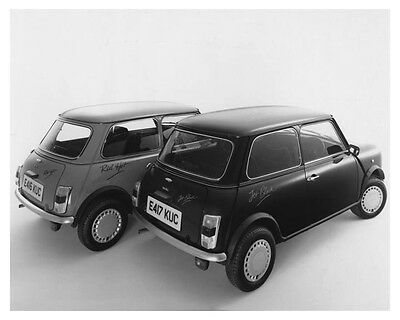 1988 Austin Mini Limited Edition Red Hot & Jet Black Factory Photo ch8798
