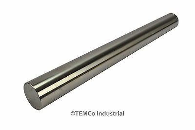 "1"" Inch Dia 12"" Long 304 Stainless Steel Round Bar Lathe SS Rod Stock 1"""