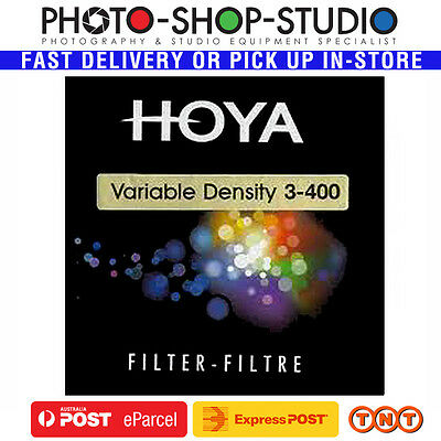 Hoya 58mm Variable Neutral Density ND3-400 1.5-9 Stop Reduction Filter #H05553