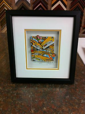 """John Suchy """" Gridlock NYC """" 3-D Art Signed & Numbered * Rizzi New York"""