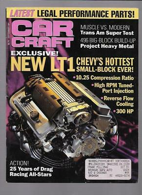 SEPTEMBER 1991 CAR Craft 25 Years Drag Racing All-Stars 427-Powered