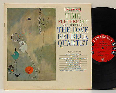 Dave Brubeck Quartet        Time further out      Columbia      NM # 22