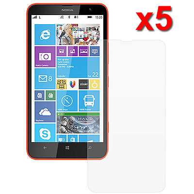 5X Crystal Clear LCD Screen Protector Flim For Nokia Lumia 1320 Phone Accessory