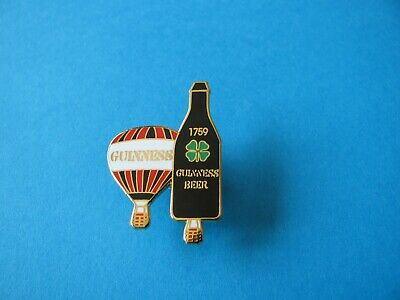 Guinness Hot Air Balloons Pin Badge. VGC. Unused. Enamel.