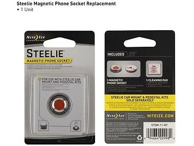 Nite Ize Steelie Magnetic Phone Socket Replacement Kit
